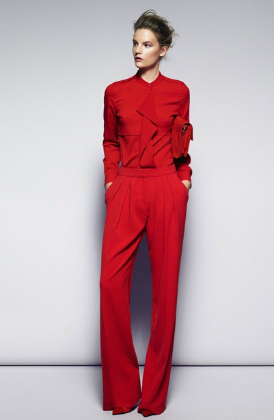 Woman in red! Este conjunto de MANGO