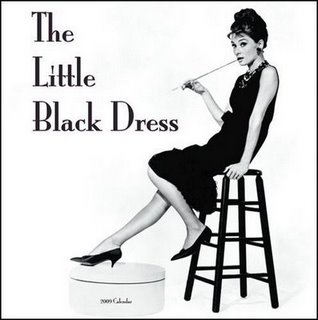 Vestido negro de coco chanel