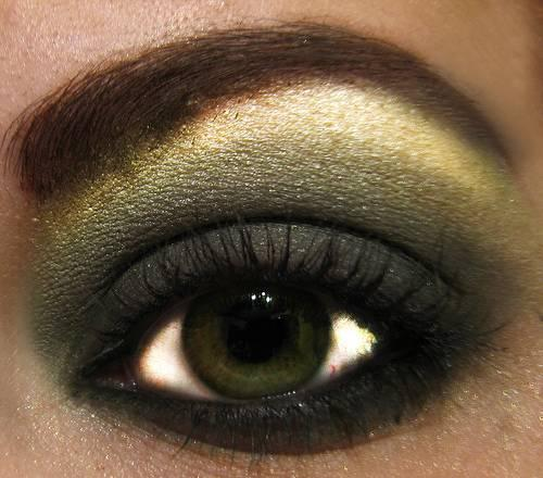 sombra ojos verde