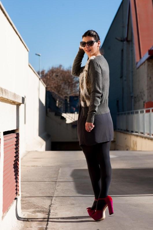 vestido gris 5