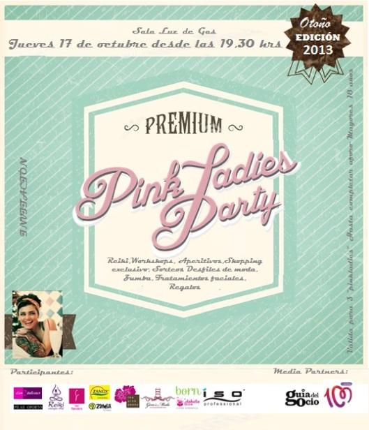 Invitación Pink Ladies Otoño 2013